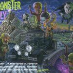 Mad Monster Rally Fantasy Model Kit Art