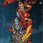 Rocket Girl Vintage Comic Cover