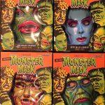 Universal monster masks for Super7