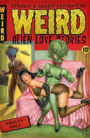 Weird Alien Love Stories
